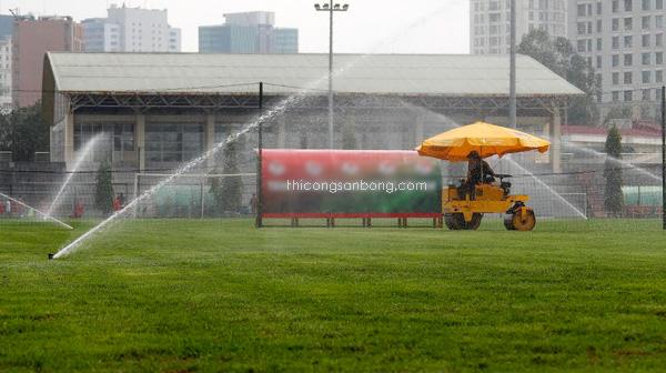 chăm sóc cỏ nhân tạo